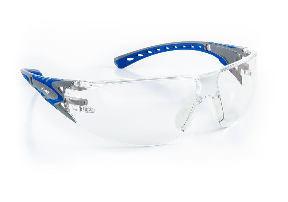 Riley Stream Red Lightweight Sports Style Safety Glasses