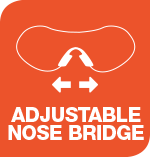 Adjustable Nose Bridge